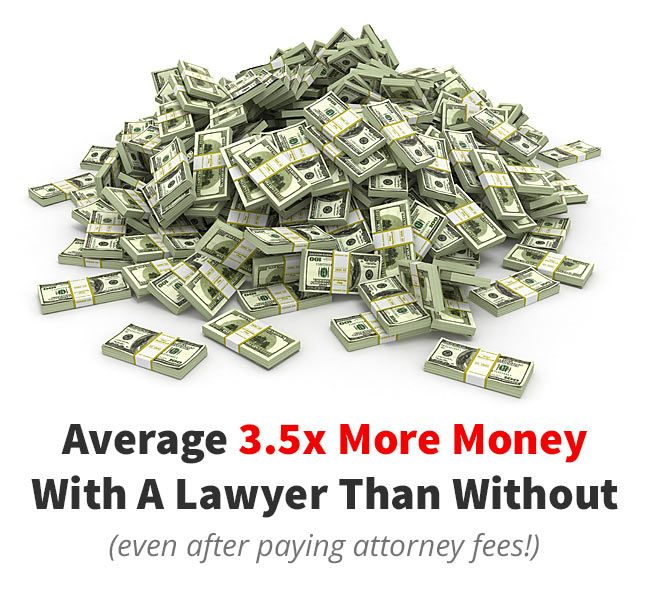 More money with lawyer